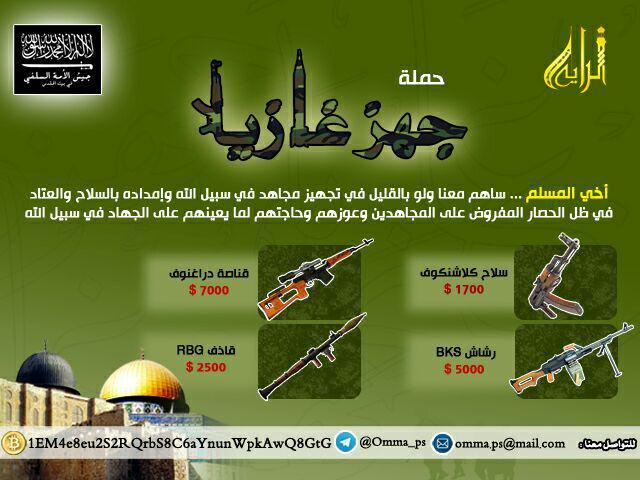 أسعار السلاح الخفيف